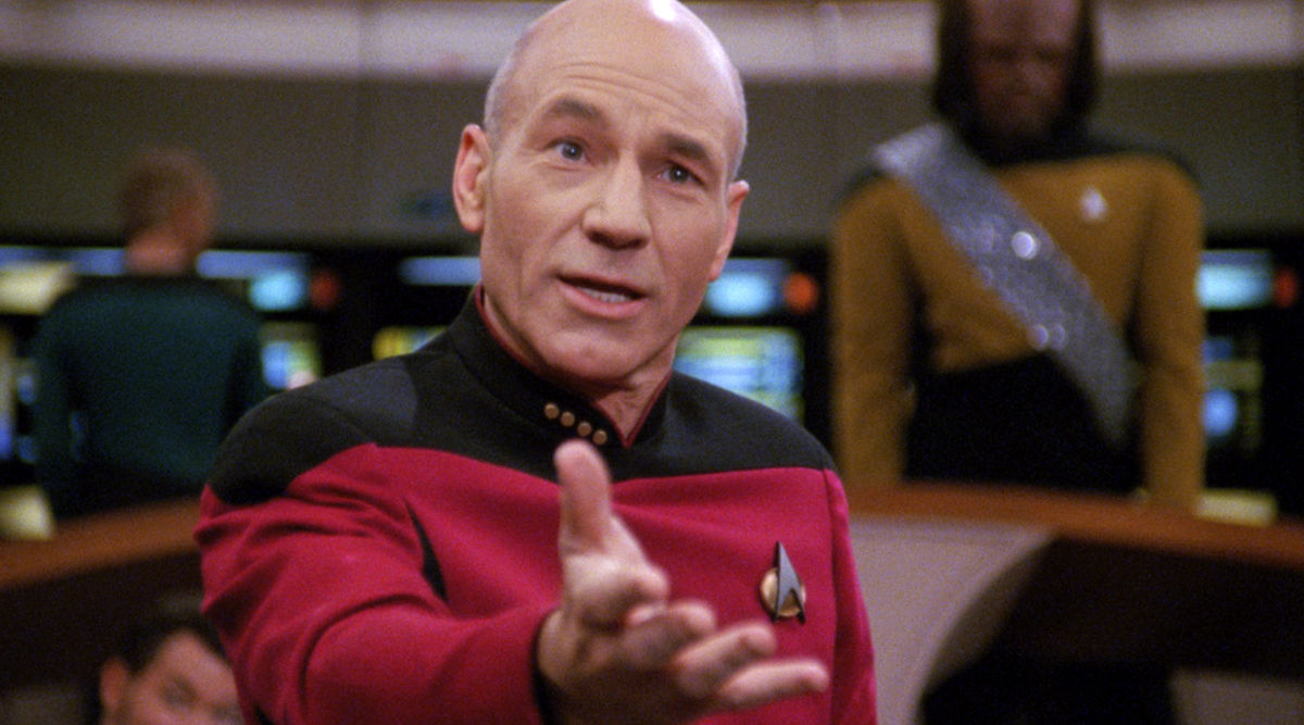 Image result for smirk picard HD