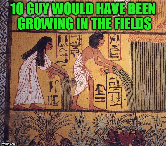 10 GUY WOULD HAVE BEEN GROWING IN THE FIELDS | made w/ Imgflip meme maker
