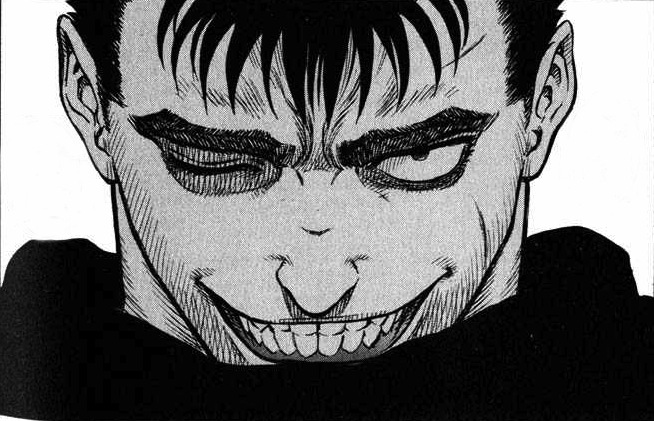 High Quality guts smile Blank Meme Template