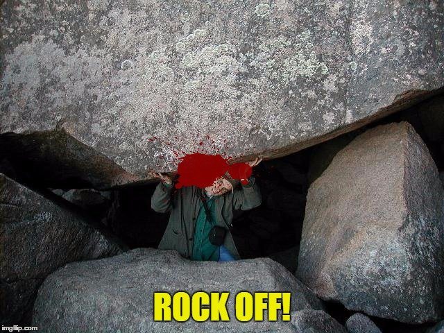 ROCK OFF! | made w/ Imgflip meme maker