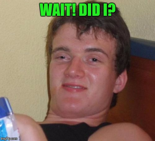 10 Guy Meme | WAIT! DID I? | image tagged in memes,10 guy | made w/ Imgflip meme maker