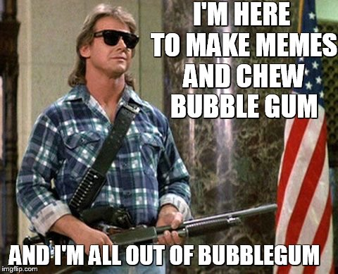 "Roddy Piper from the 1988 movie ""They Live""  