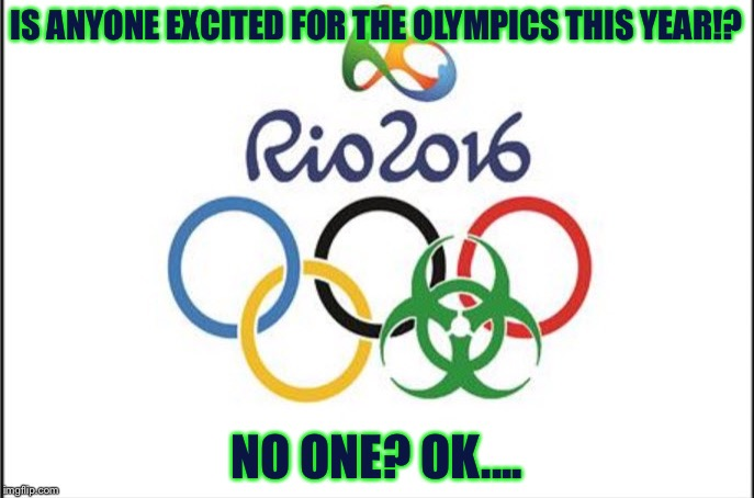 Rio Olympics in a Nuttshell - Imgflip