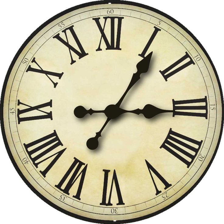 picture relating to Clock Face Printable referred to as Clock deal with Blank Template - Imgflip