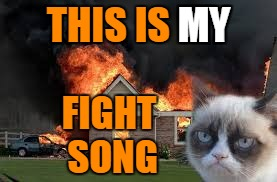 THIS IS MY FIGHT SONG MY | made w/ Imgflip meme maker