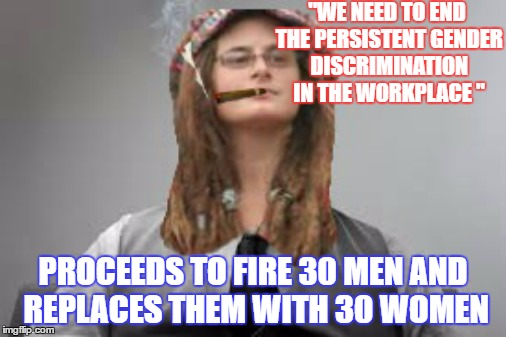 Sexual discrimination in the workplace memes