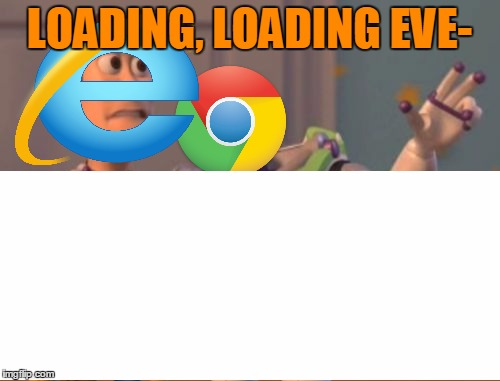 LOADING, LOADING EVE- | made w/ Imgflip meme maker