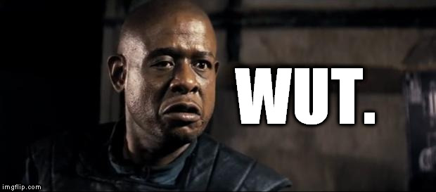 Forest Whitaker Eye WUT | WUT. | image tagged in forest whitaker 1,wut,whitaker,forest,forest whitaker,forest whitaker eye | made w/ Imgflip meme maker