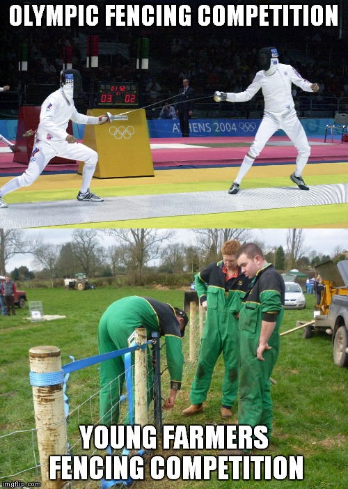 Funny Olympic Fencing Pictures