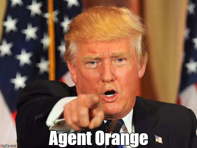 Agent Orange | made w/ Imgflip meme maker