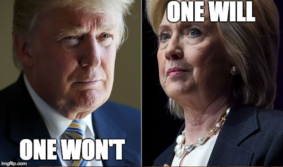 ONE WILL ONE WON'T | made w/ Imgflip meme maker