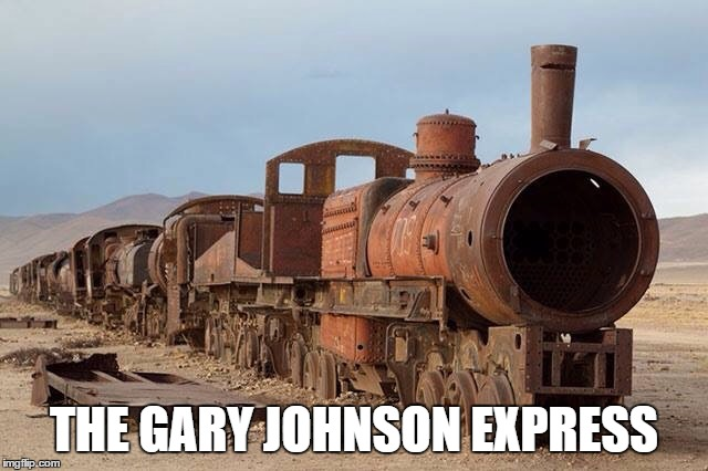 THE GARY JOHNSON EXPRESS | made w/ Imgflip meme maker