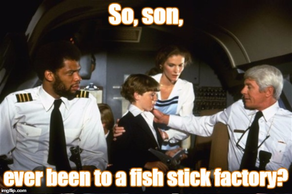 So, son, ever been to a fish stick factory? | made w/ Imgflip meme maker