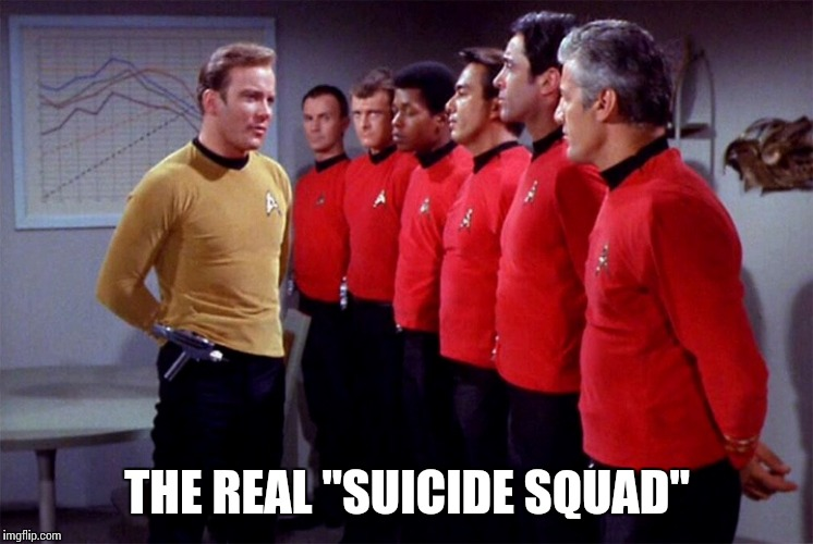 "Red shirts | THE REAL ""SUICIDE SQUAD"" 