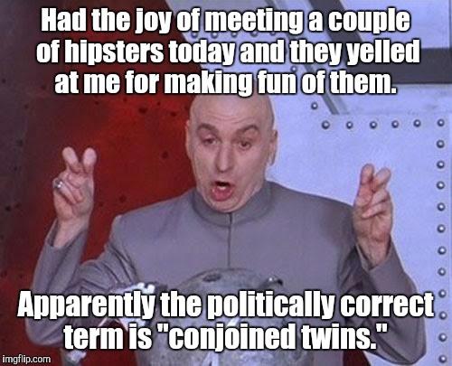 Fun Couple Meme : Dr evil laser meme imgflip