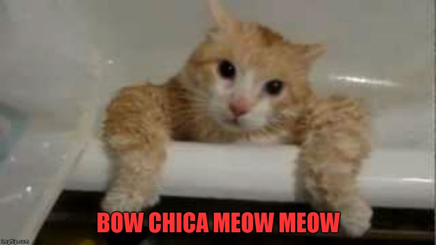 BOW CHICA MEOW MEOW | made w/ Imgflip meme maker