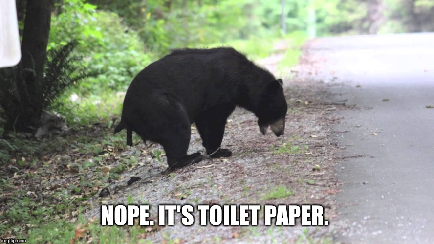 NOPE. IT'S TOILET PAPER. | made w/ Imgflip meme maker