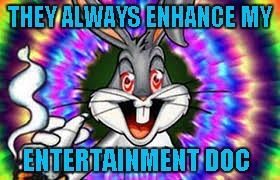 THEY ALWAYS ENHANCE MY ENTERTAINMENT DOC | made w/ Imgflip meme maker