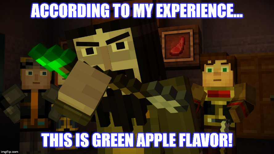 Minecraft Story Mode Ivor And Arrow Of Poison Imgflip