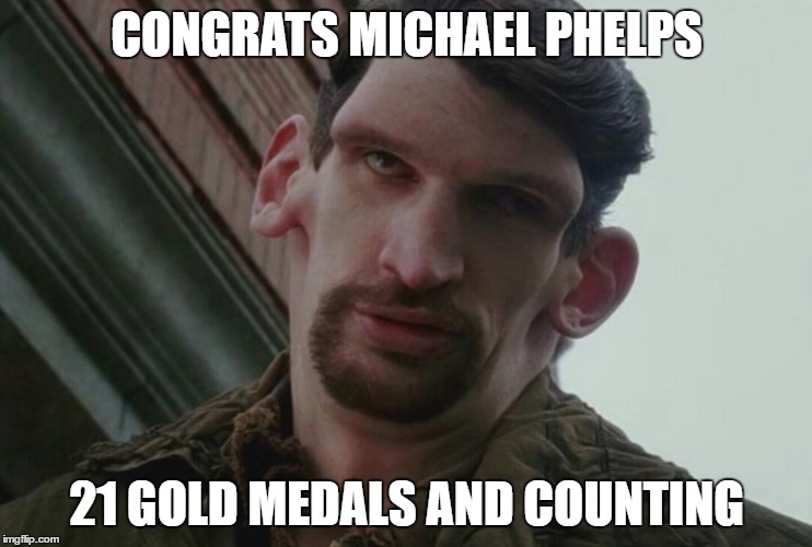 Michael Phelps | CONGRATS MICHAEL PHELPS 21 GOLD MEDALS AND COUNTING | image tagged in olympics,2016 olympics,michael phelps | made w/ Imgflip meme maker