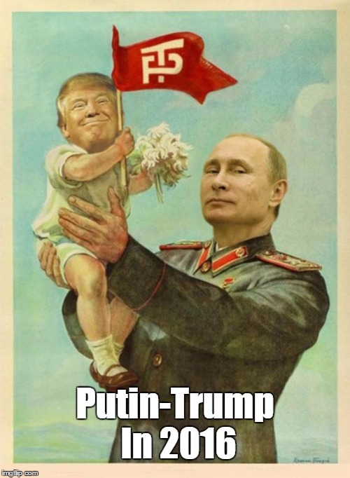Putin-Trump In 2016 | made w/ Imgflip meme maker