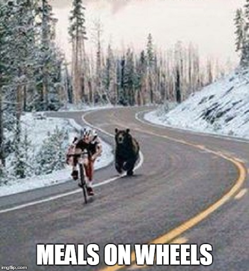 Meanwhile in Canada... | MEALS ON WHEELS | image tagged in memes,canada,meals on wheels | made w/ Imgflip meme maker