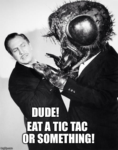 DUDE! EAT A TIC TAC OR SOMETHING! | made w/ Imgflip meme maker