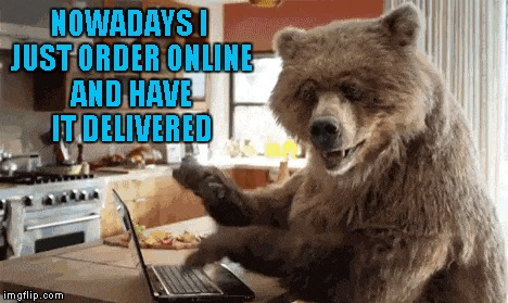 NOWADAYS I JUST ORDER ONLINE AND HAVE IT DELIVERED | made w/ Imgflip meme maker