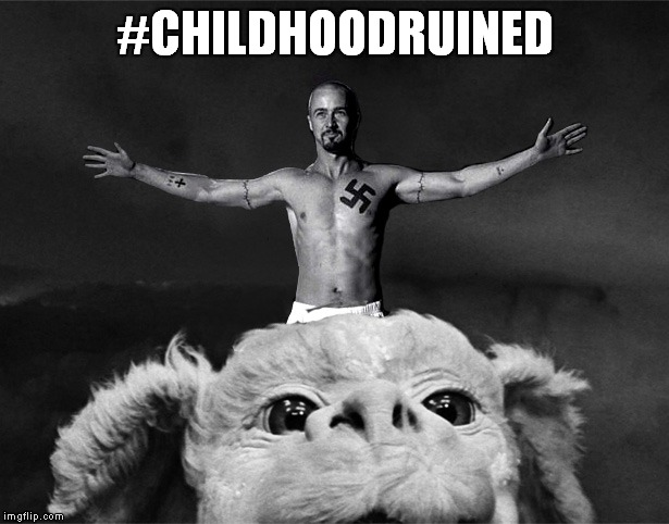 #CHILDHOODRUINED | made w/ Imgflip meme maker