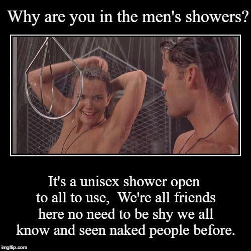 Unisex shower