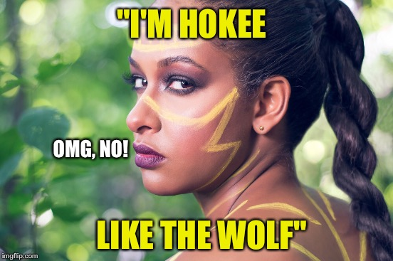 """I'M HOKEE LIKE THE WOLF"" OMG, NO! 