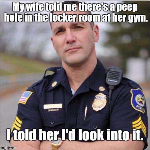 Scumbag cop imgflip