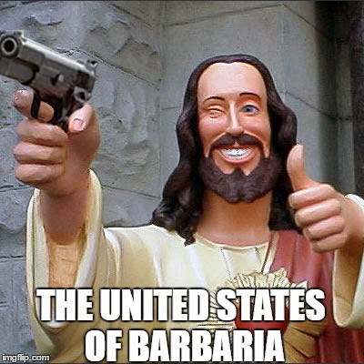 Image result for the united states of barbaria