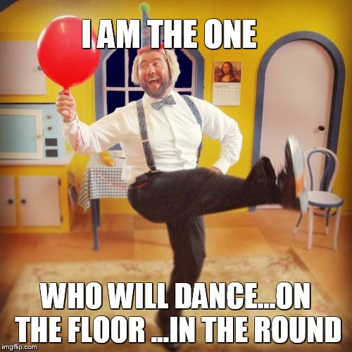Billie Jean Party Dance | I AM THE ONE WHO WILL DANCE...ON THE FLOOR ...IN THE ROUND | image tagged in billie jean,michael jackson,dancing,meme,funny memes,memes | made w/ Imgflip meme maker