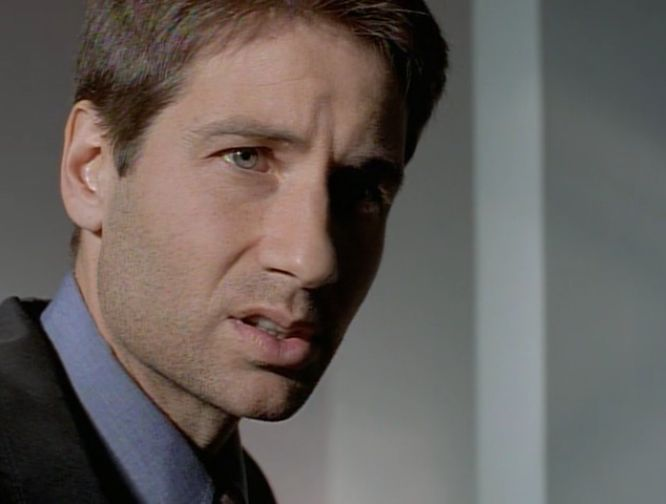High Quality Fox Mulder Confused Blank Meme Template