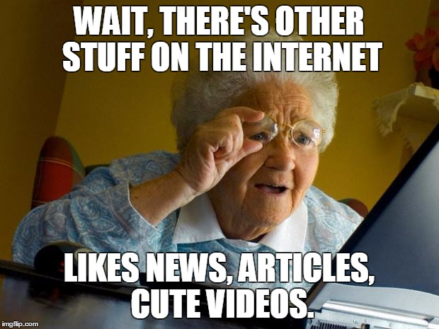 194gb5 old lady at computer finds the internet meme generator imgflip