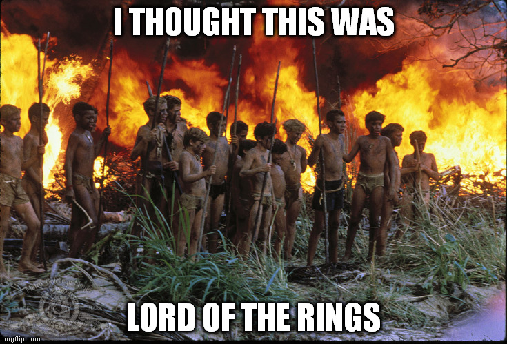 I THOUGHT THIS WAS LORD OF THE RINGS | made w/ Imgflip meme maker