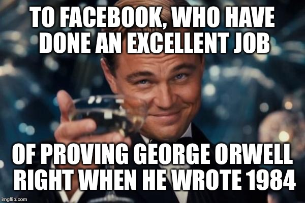 Image result for facebook dicaprio memes