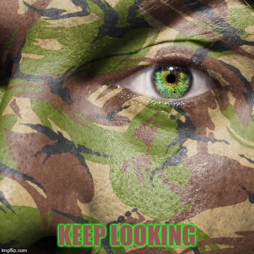 KEEP LOOKING | made w/ Imgflip meme maker