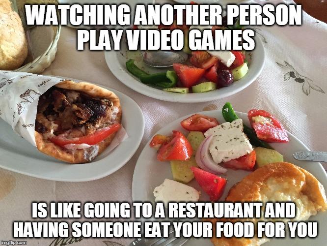 Watching Video Games or Watching Genealogy