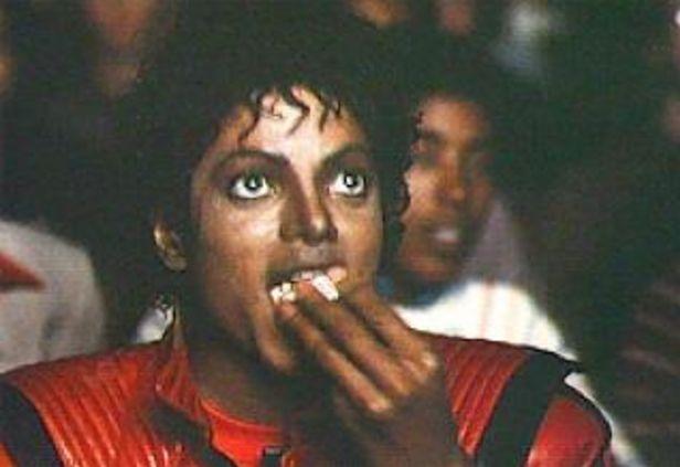 Michael Jackson Popcorn Blank Template - Imgflip