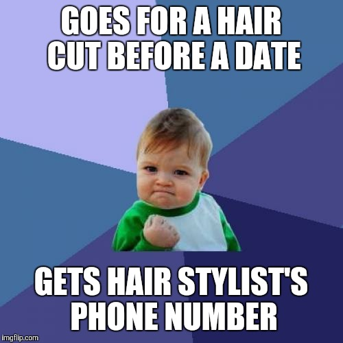 """dating a hairdresser meme In praise of the """"beta male look no further than the feminist ryan gosling meme for proof that straight women love confident, unrestricted masculinity."""