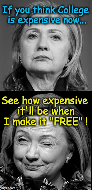"""If you like your College you can keep your College....""  I think I've heard something similar before  