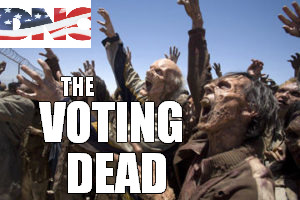 Zombies are still registered voters
