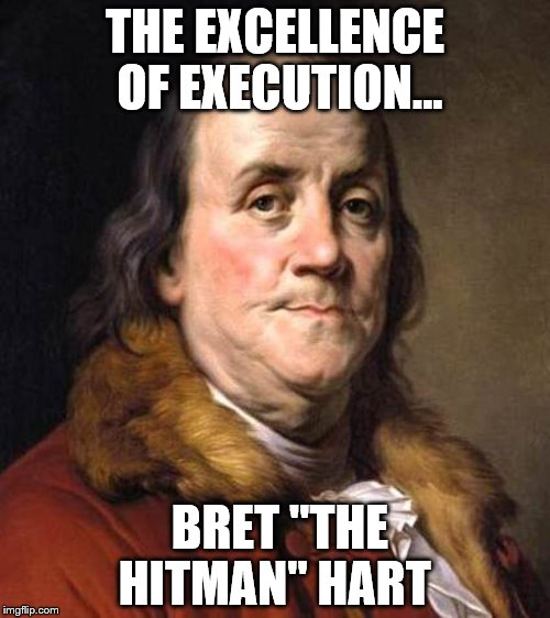 "Bret Hart Doppelgänger | THE EXCELLENCE OF EXECUTION... BRET ""THE HITMAN"" HART 