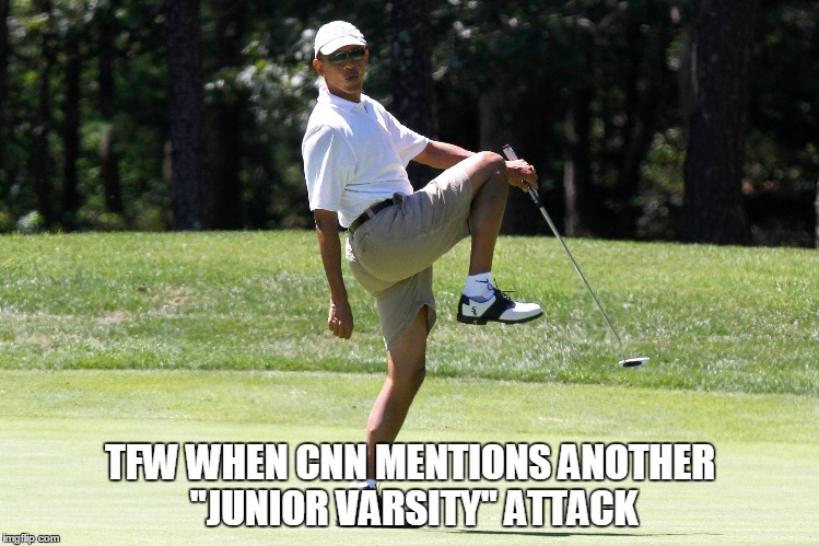 "JV Team  | TFW WHEN CNN MENTIONS ANOTHER ""JUNIOR VARSITY"" ATTACK 