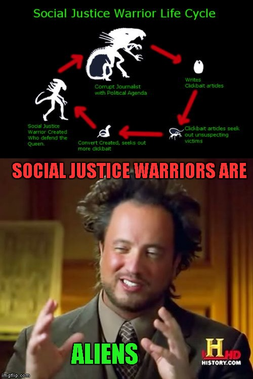 SJW's are here why? - Imgflip