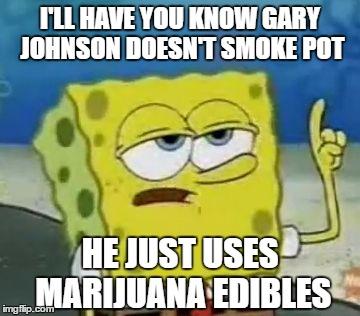 Image result for gary johnson marijuana