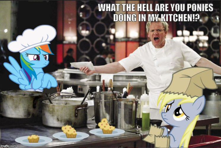 Hell's Kitchen MLP | image tagged in hell's kitchen mlp | made w/ Imgflip meme maker