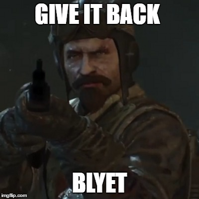 GIVE IT BACK BLYET | made w/ Imgflip meme maker